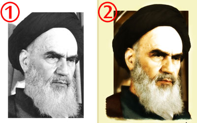 Imam khomeini poster